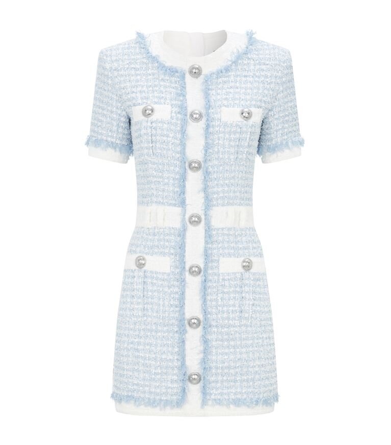 Balmain Tweed Mini Dress  HK$21,639