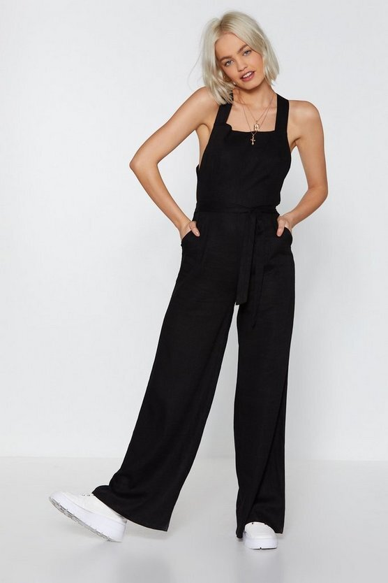 Nasty Gal Jump the Queue Wide-Leg Jumpsuit  US$70 (HK$549)