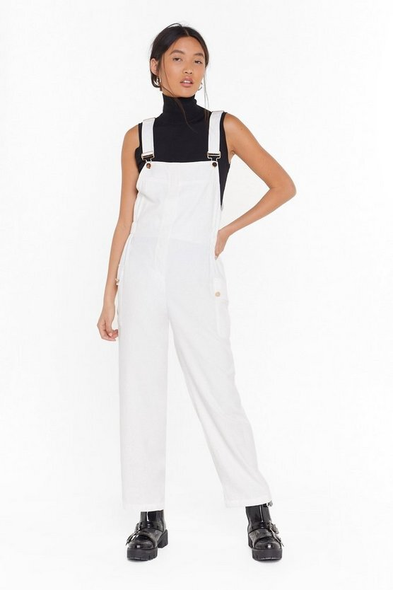 Nasty Gal Work for It Cropped Overalls  US$40 (HK$314)