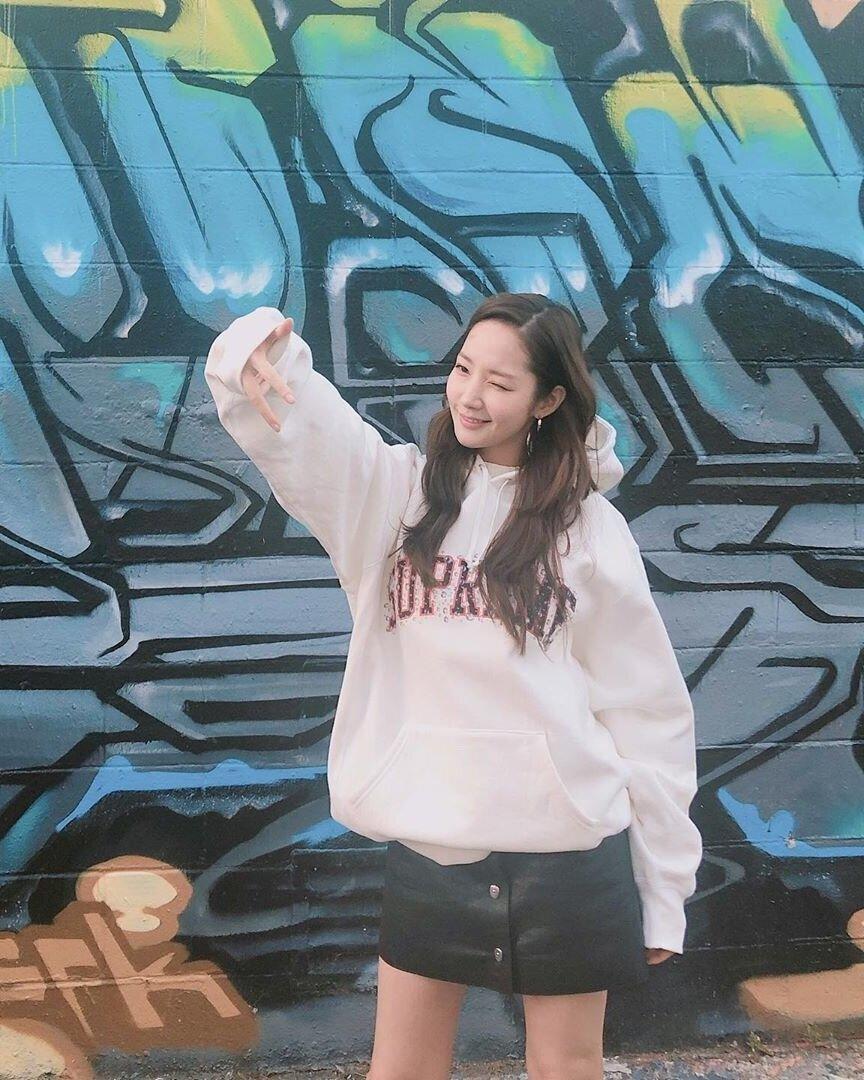 Park Min-young via Instagram@ rachel_mypark