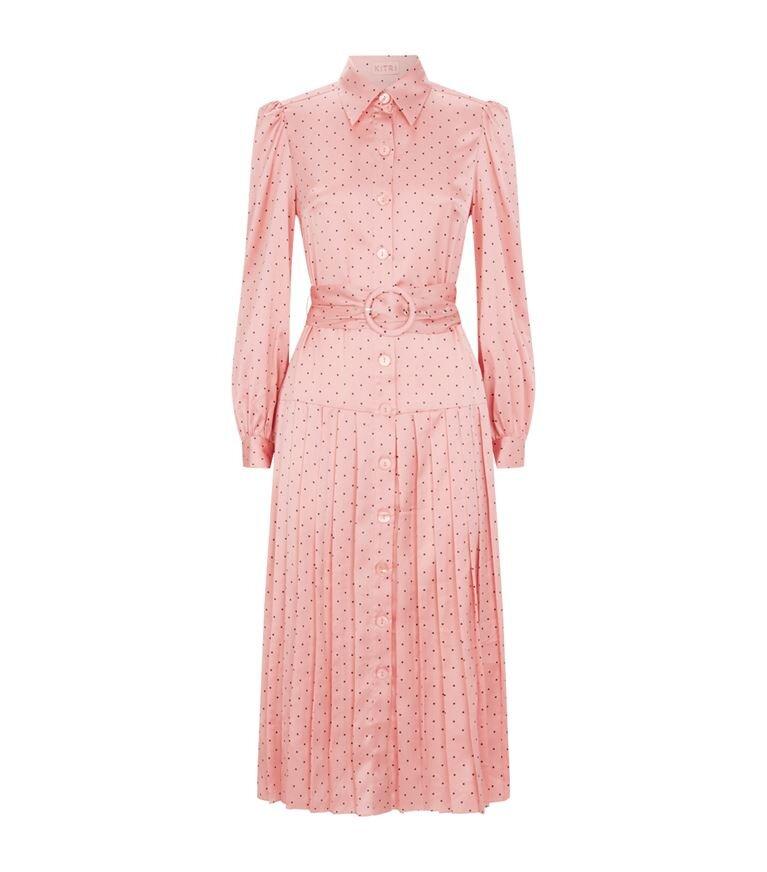 Kitri Polka-Dot Print Tara Shirt Dress HK$1,212