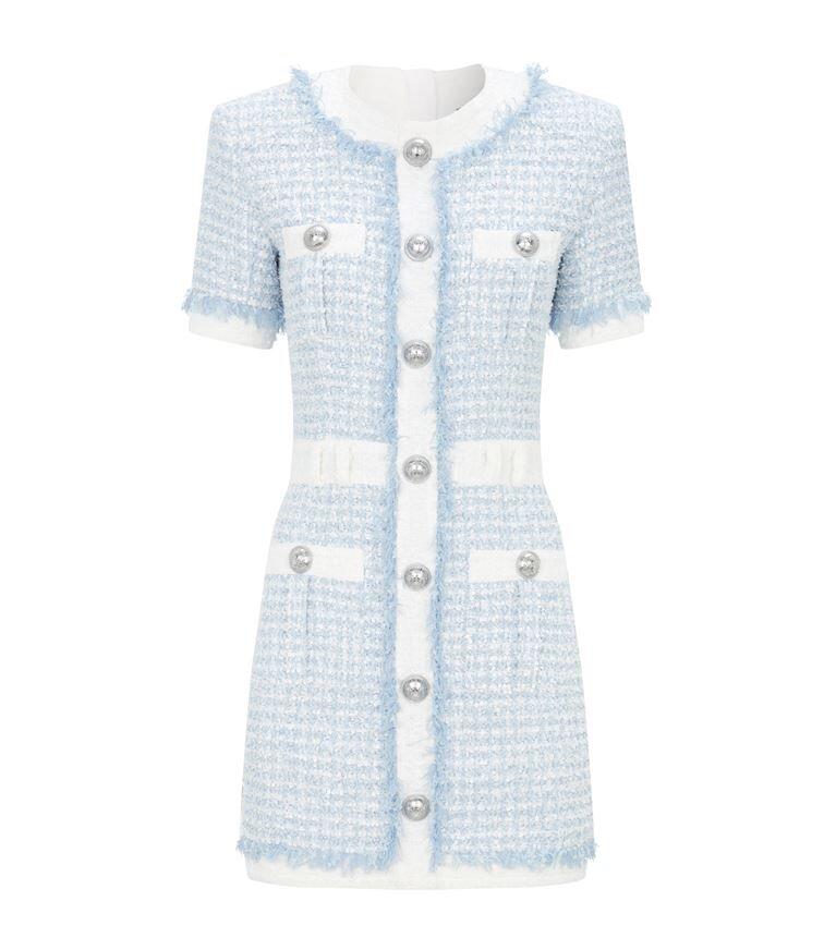 Balmain Tweed Mini Dress  HK$21,639