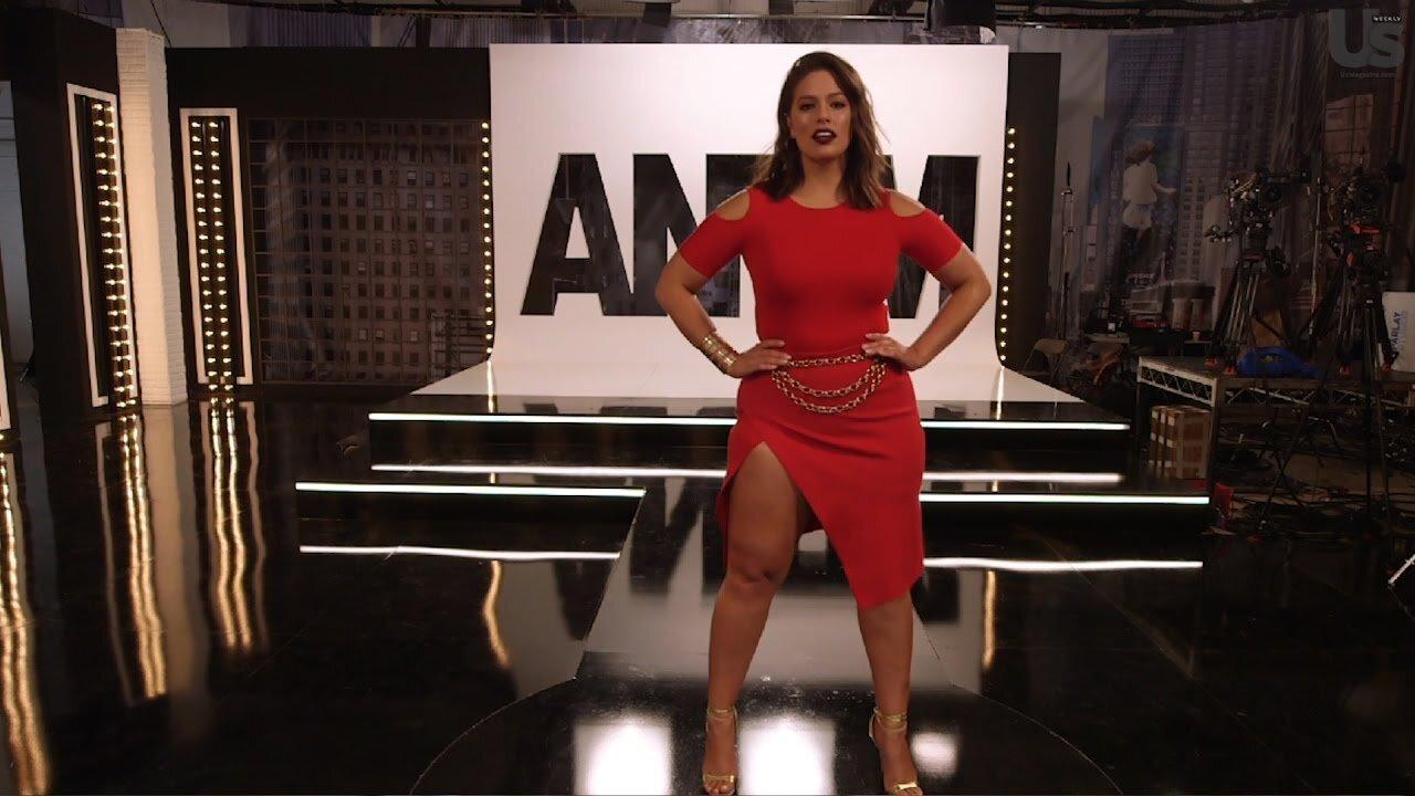 △超模Ashley Graham 成為America's Next Top Model 第 24 季評判;Credit to YouTube