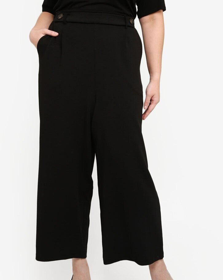 Only CARMAKOMA Plus Size Betty Cropped Wide Pants    HK$449