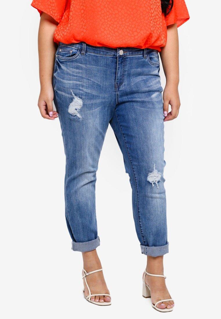 Junarose Plus Size Mifie Ankle Jeans    HK$496.9