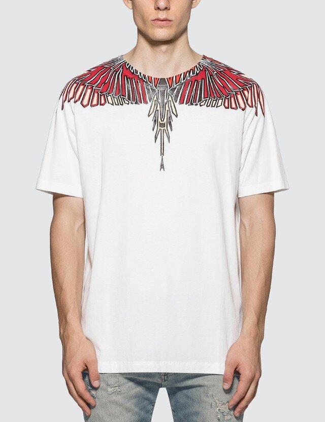 MARCELO BURLON Geometric Wings T-Shirt  HK$1,884