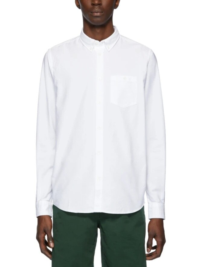 Norse Projects White Oxford Anton Shirt  HK$1,020