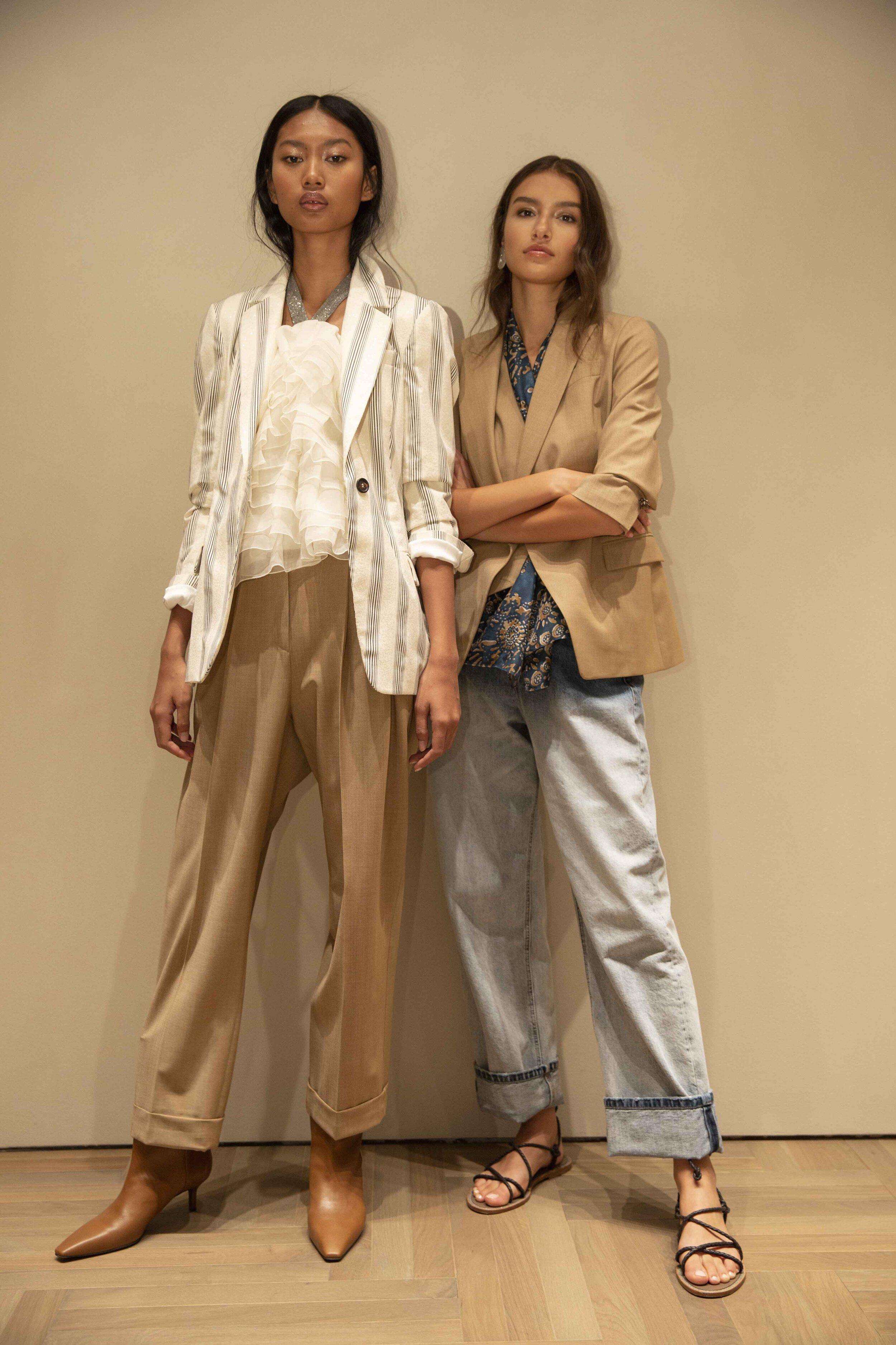 Brunello Cucinelli SS20 Women collection - backstage models.5.jpg