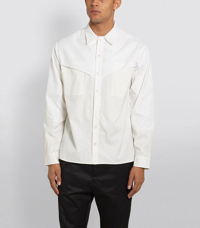 △ Qasimi Western Panel Poplin Shirt  HK$2,894