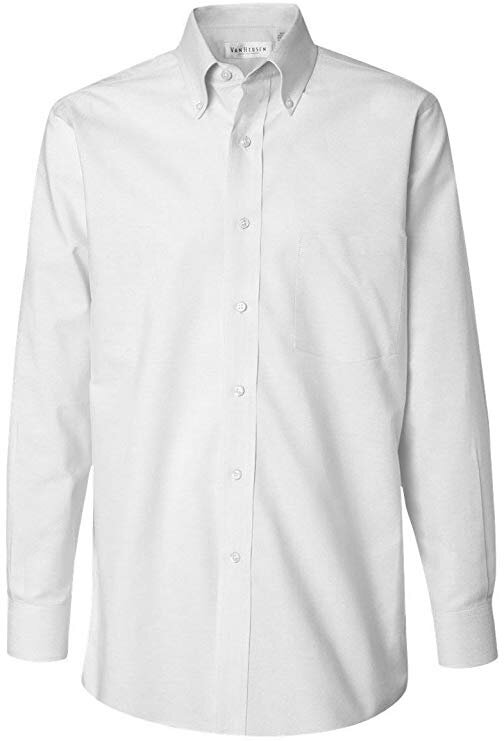 △ Van Heusen Pinpoint Oxford Shirt  US$25.55 – 51.69 (~HK$200 - 405)
