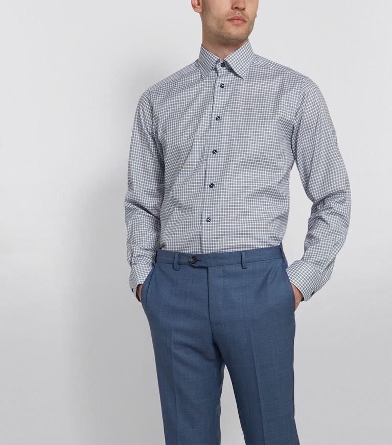 △ Eton Contemporary-Fit Cotton Twill Shirt  HK$1,184