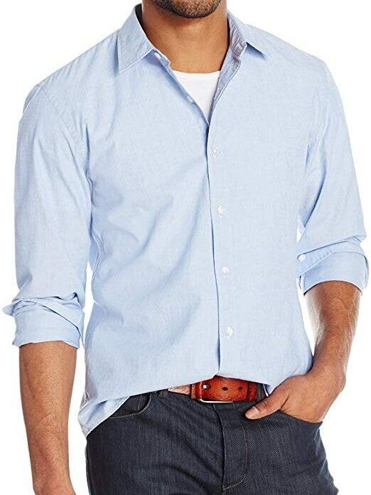 △ Amazon Brand - Goodthreads Men's Standard-Fit Long-Sleeve End on End Shirt  US$11.07 - 25 (~HK$87 - 200)