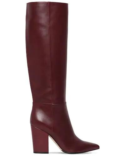 Sergio Rossi 90mm Sergio Tall Leather Boots  HK$10,100