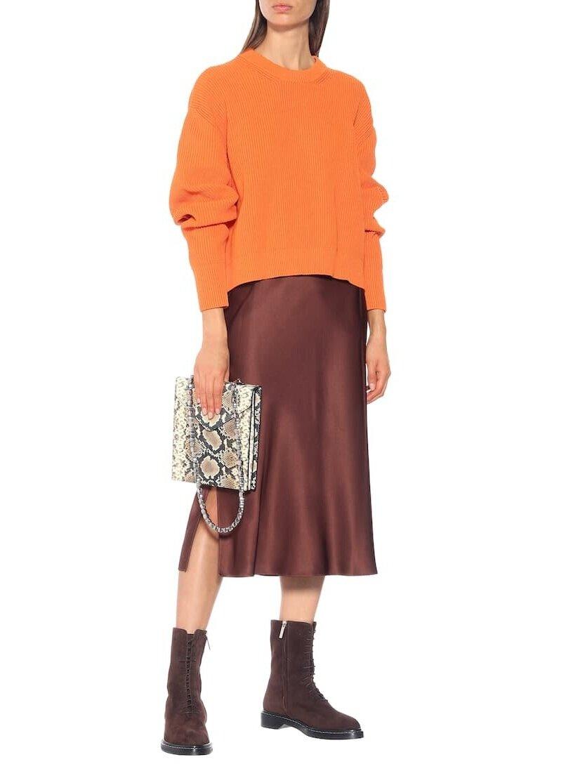 △ Joseph Frances Silk-satin Midi Skirt  HK$2,540