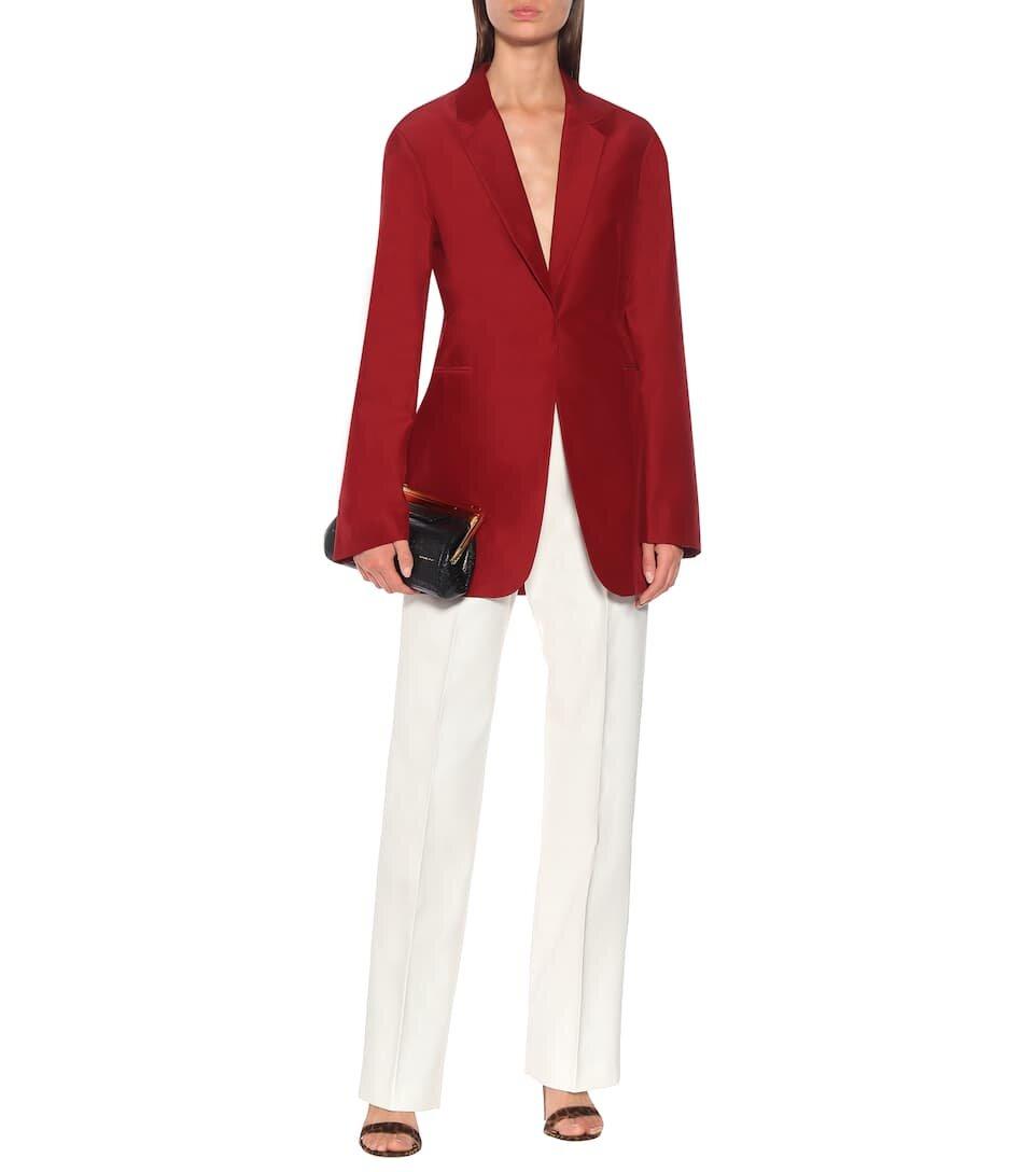 △ Victoria Beckham Cotton and Silk Blazer  HK$10,990