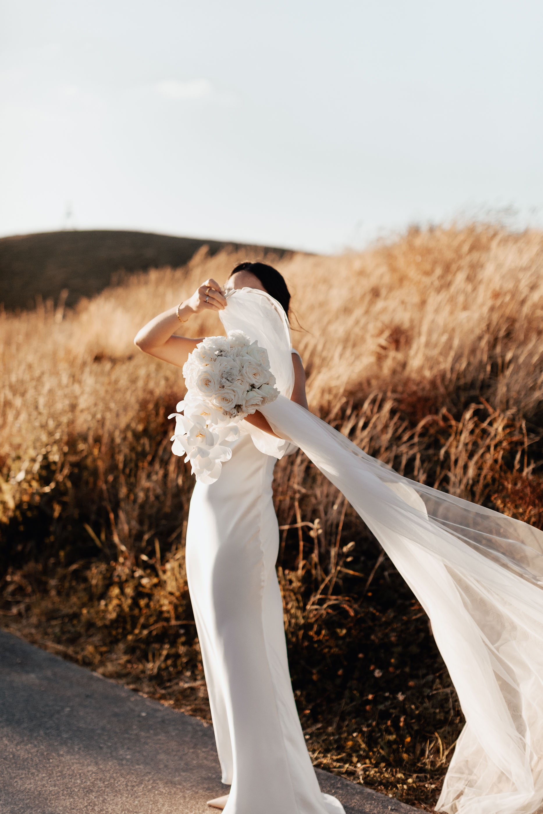completely ethereal. we adore this shot of flora. - a sunlit dream.
