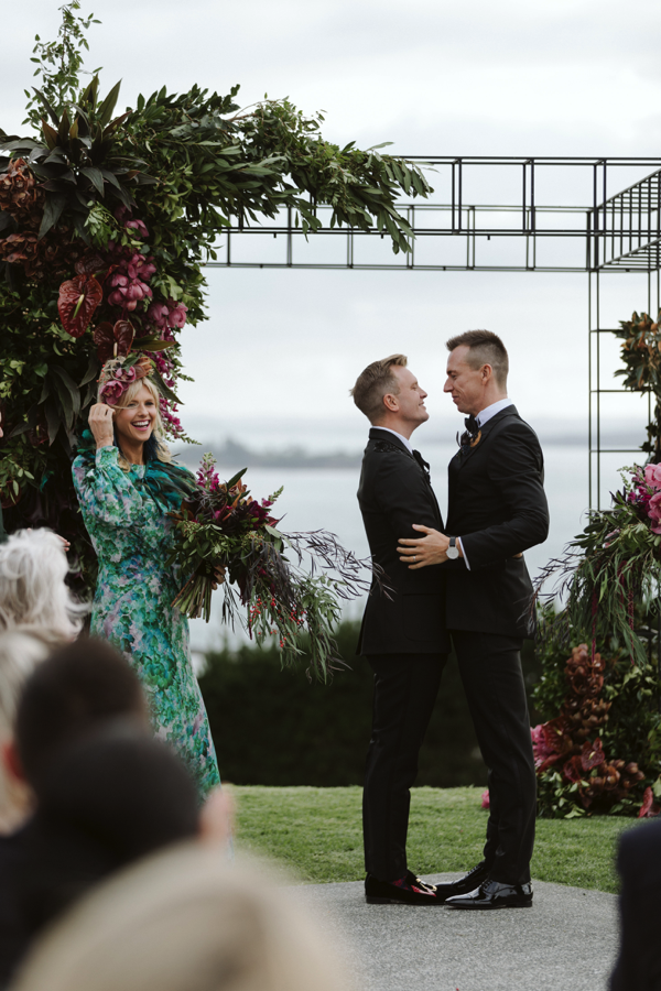 kelly & the team at blush EXCEEDED OUR EXPECTATIONS. The florals were BEYOND STUNNING, EXCEPTIONALLY EXTRAVAGANT & completely UNFORGETTABLE!!! - - pete and ant