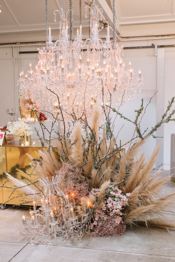 blush x TRISH PENG - infusing an enduring love of flowers with a transformational bridal story from renowned kiwi designer, TRISH PENG's latest FLORA COLLECTION encompassed every corner of blush's much anticipated new space, blush on cascade.