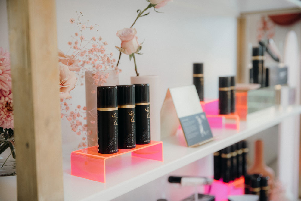 ghd, a launch in support of the breast cancer foundation. - held at our space, blush on cascade. explore now >