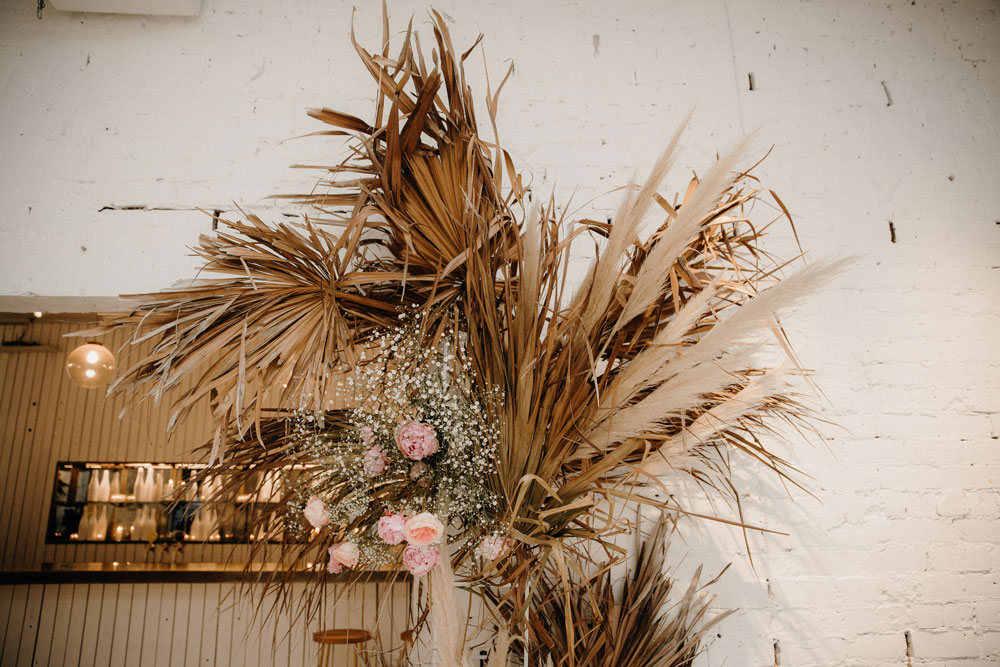 a 30th birthday bash. - a white room and us, we styled, we added the floral...