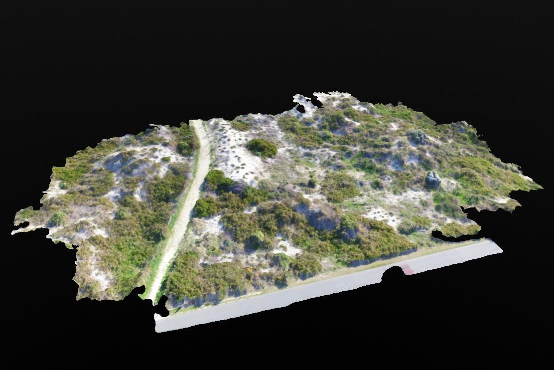 3D topographic model