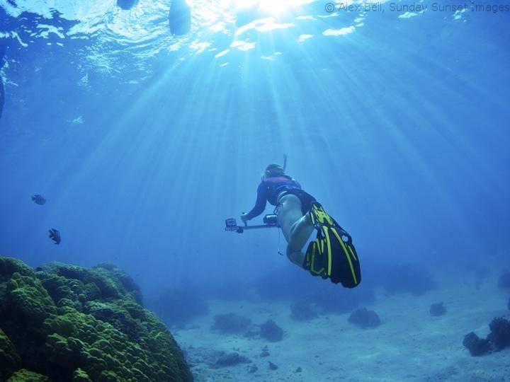 Underwater stereo video -