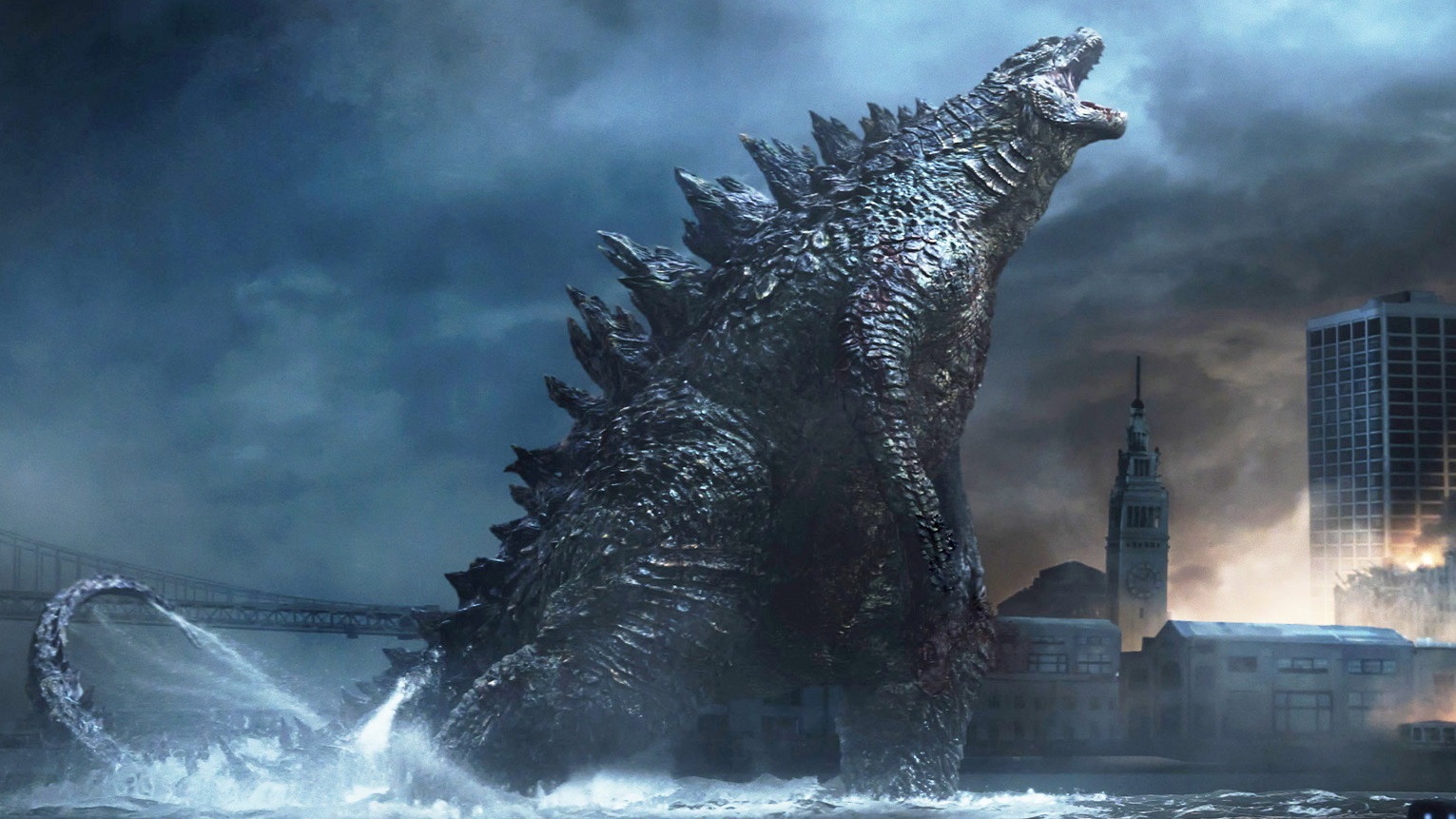 Did you hear the one about God being scared of Godzilla? Yeah, well, he should be!