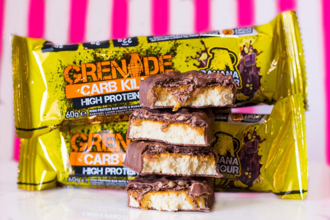 Nikki Ryan Grenade Protein Bars