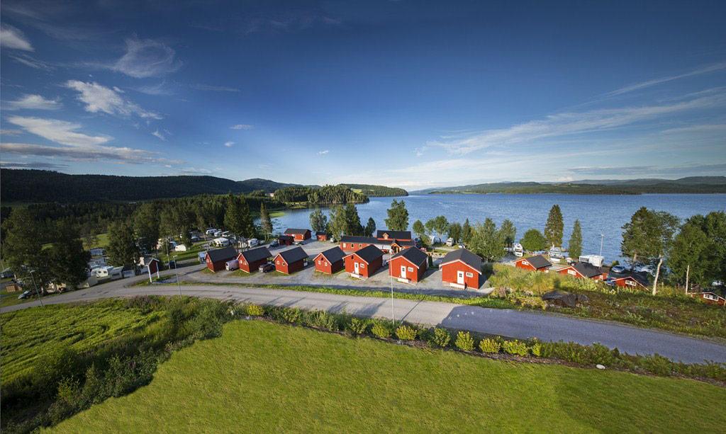 Føllingstua Camping ved Snåsavatnet i Steinkjer - Ditt naturlige stoppested for overnatting på din vei langs E6 eller Kystriksveien.