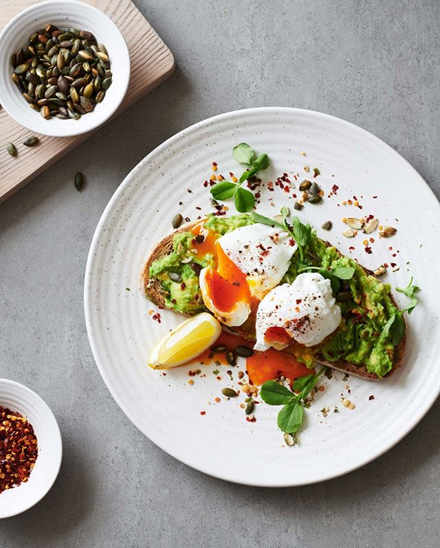 Weekends and brunch go together like poached eggs and smashed avocado.  #theprovenist #brunchlife #bathlocal #putaneggonit #goodmoodfood