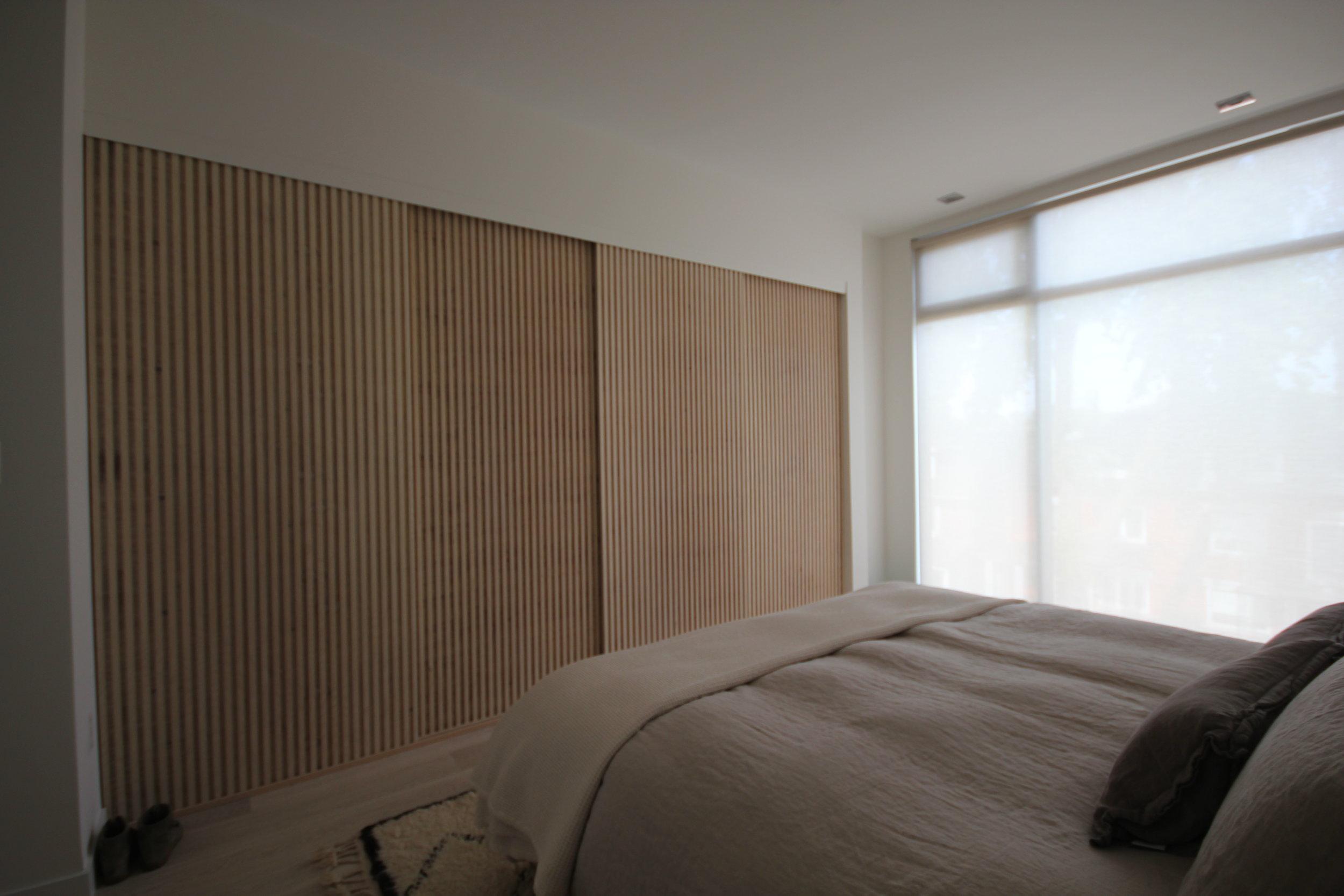 Master Bedroom- Ash wardrobe sliding doors