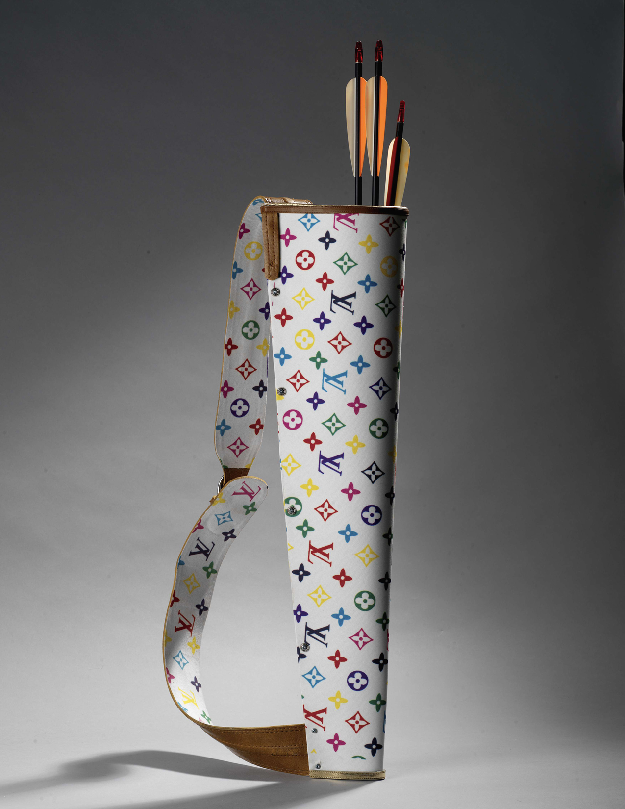 Kent Monkman- LV Quiver made for installation at the Art Gallery of Ontario and the Royal Ontario Museum.