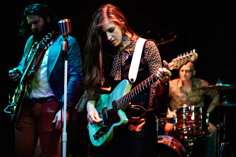 Lily in the Weeds performing. All photos by Kris Misevski