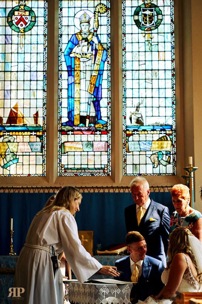 Danielle Paul Wedding Saint Andrews Richmond