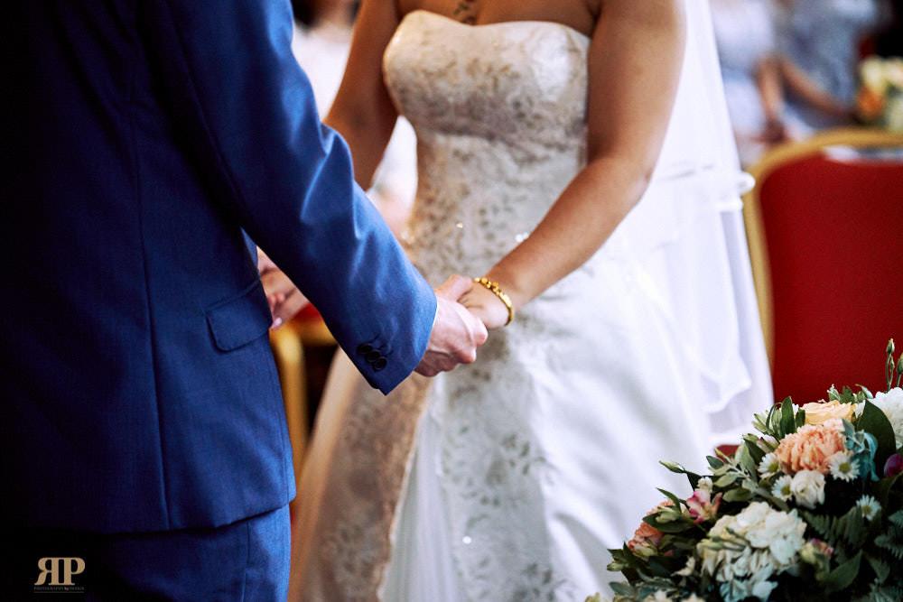 Bihan Gareth Wedding Grims Dyke Hotel