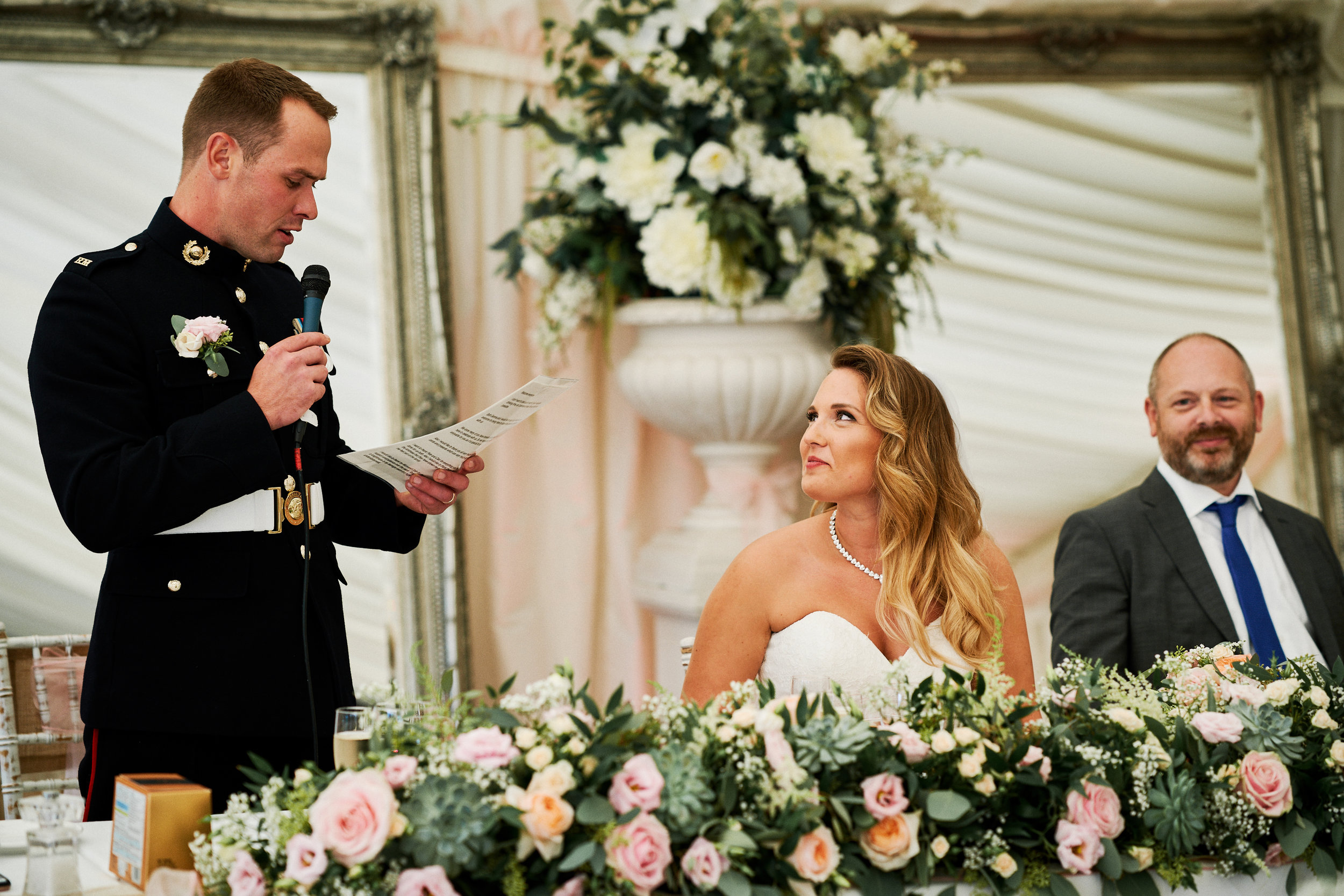 Groom's Speech - A memory for the bride to treasure forever.