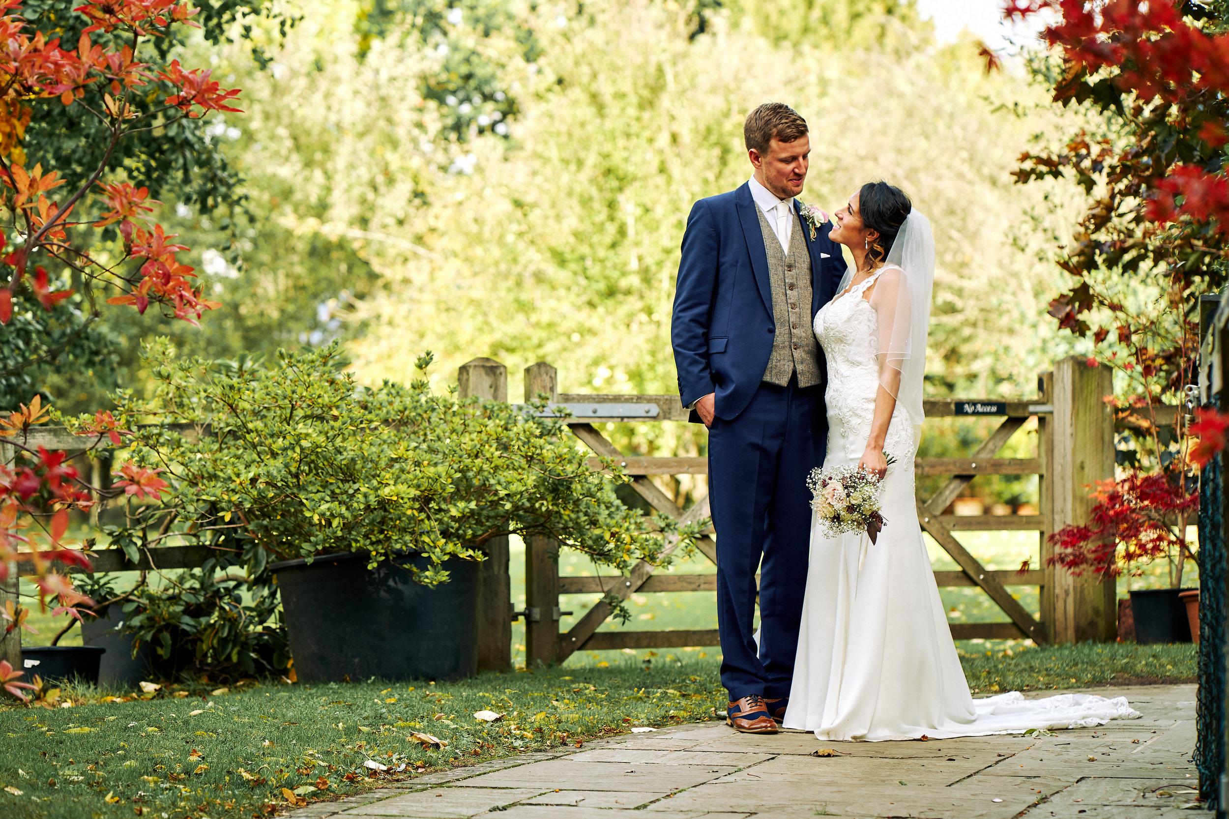 Carolina Nicholas Wedding Rivervale Barn at Rivervale Barn Yateley on 12 October 2018.