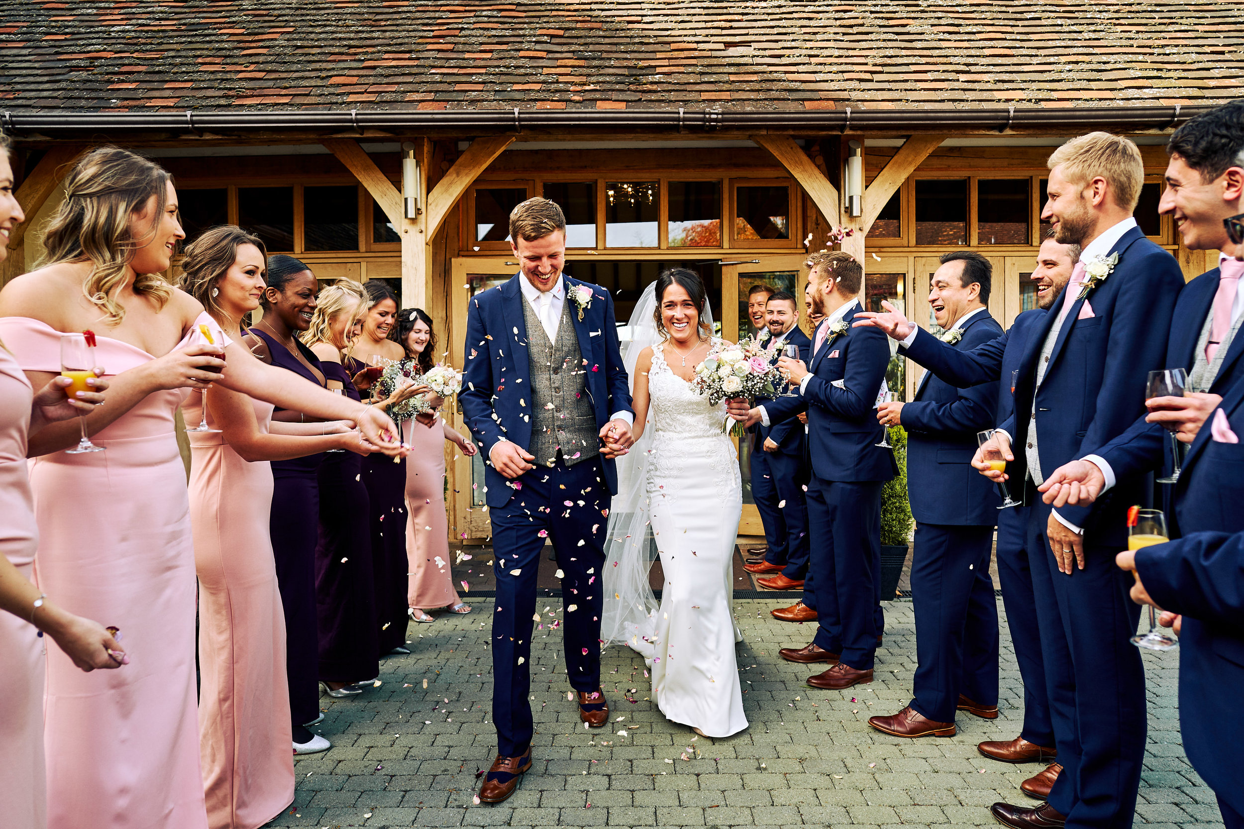 Ten Hour £900 - The next step up is the ten-hour package.This usually captures everything from bridal preparation through to the first dance.