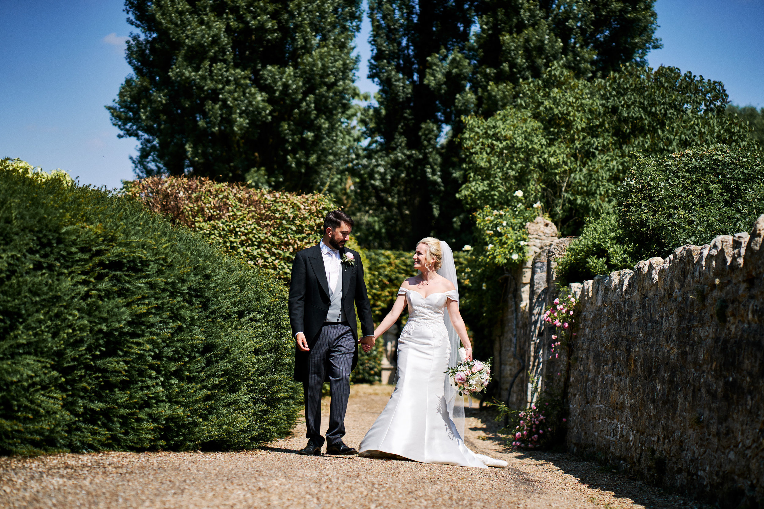 Kathleen Nick Wedding Notley Abbey Thame at Notley Abbey, Thame Oxford on 05 July 2018.