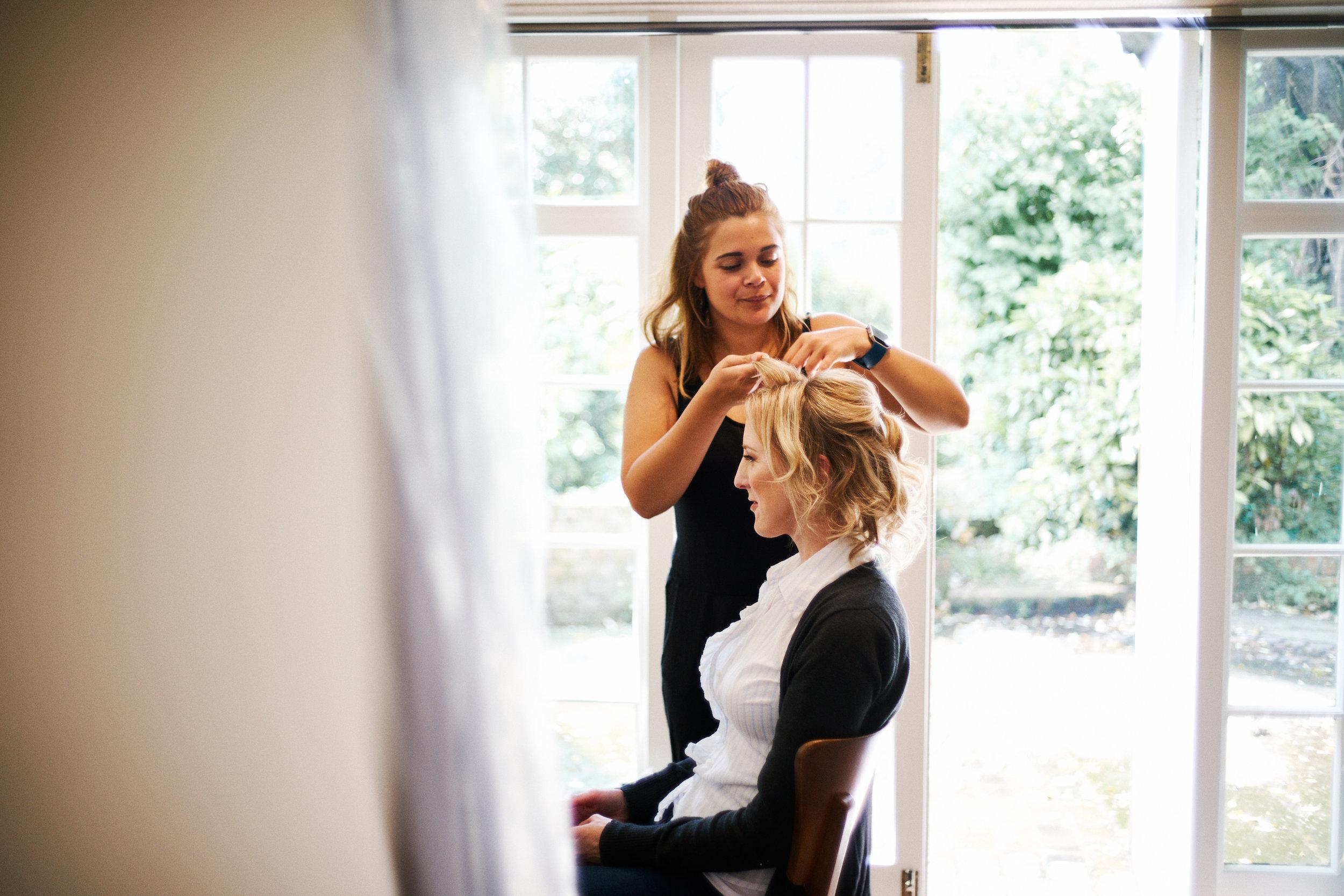 Bridal Preparations -