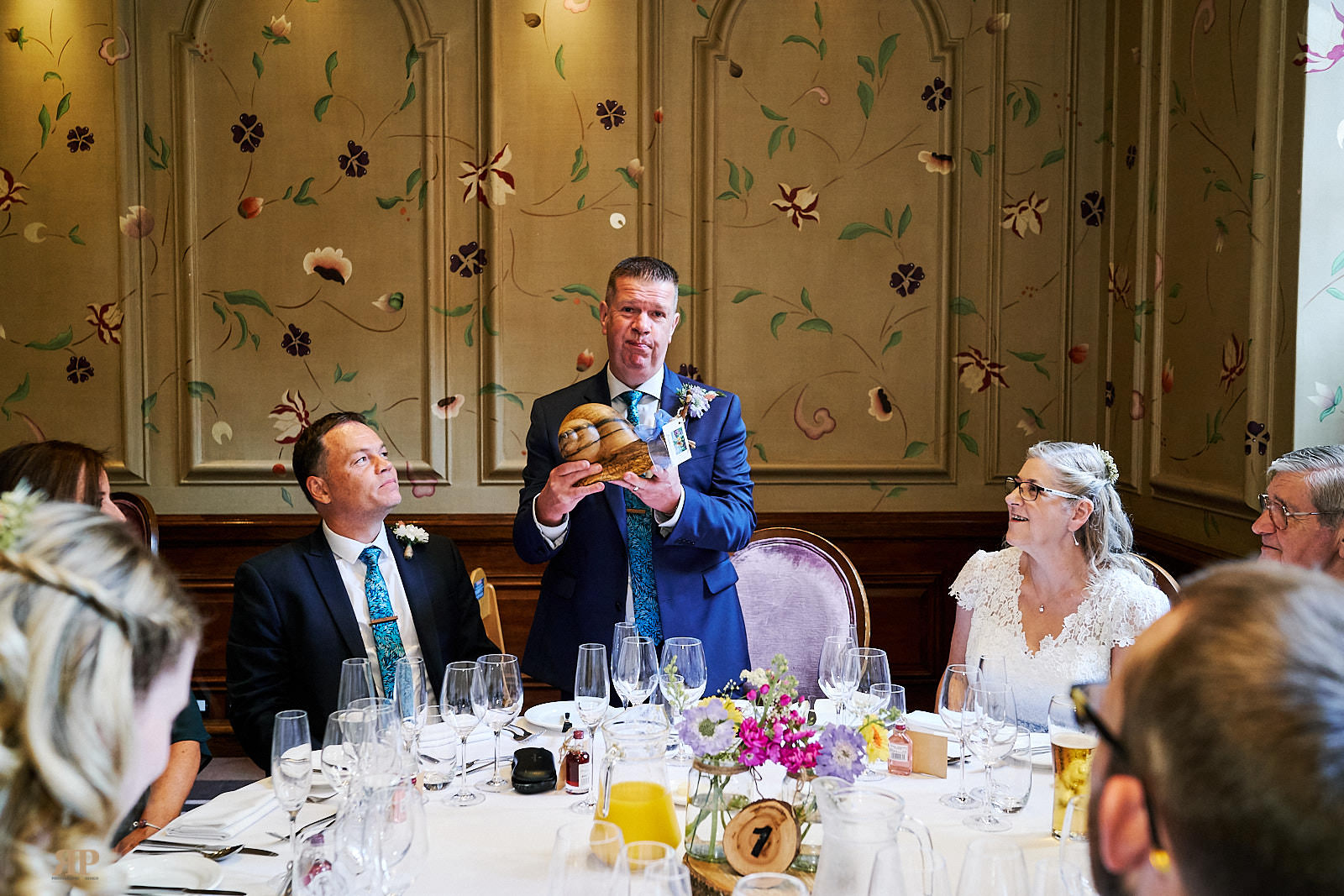Helen Grant Wedding The Forbury Hotel at The Forbury Hotel Reading on 25 May 2019.