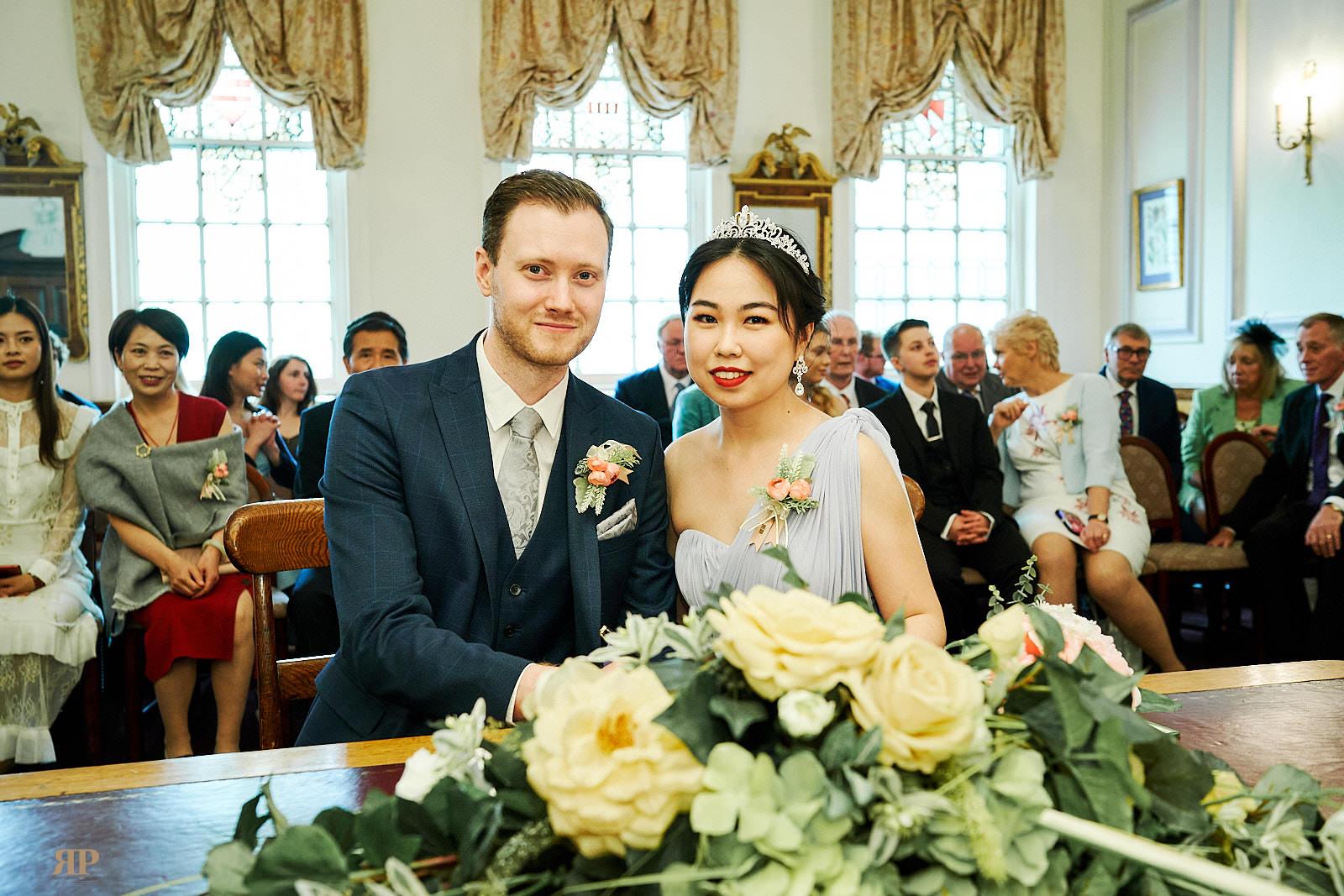 Helen Zhang Wedding at Register Office Oxford on 15 June 2019.