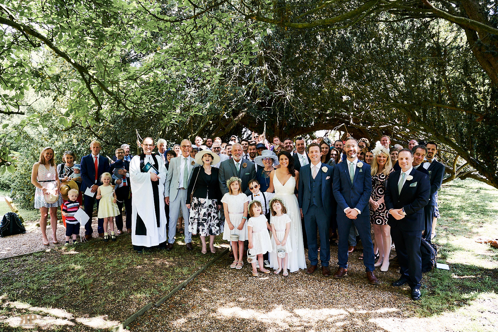 Nicholas Woodhams Wedding at Saint Lawrence Church Waltham on 22 June 2019.