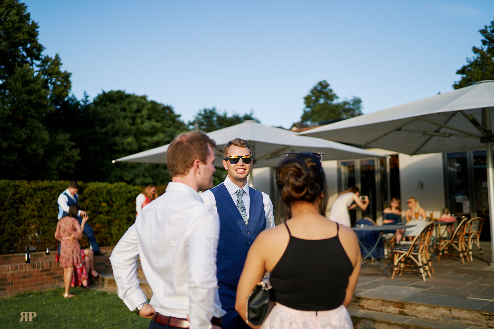 Amy Derek Wedding The Great House at The Great House Reading on 29 June 2019.