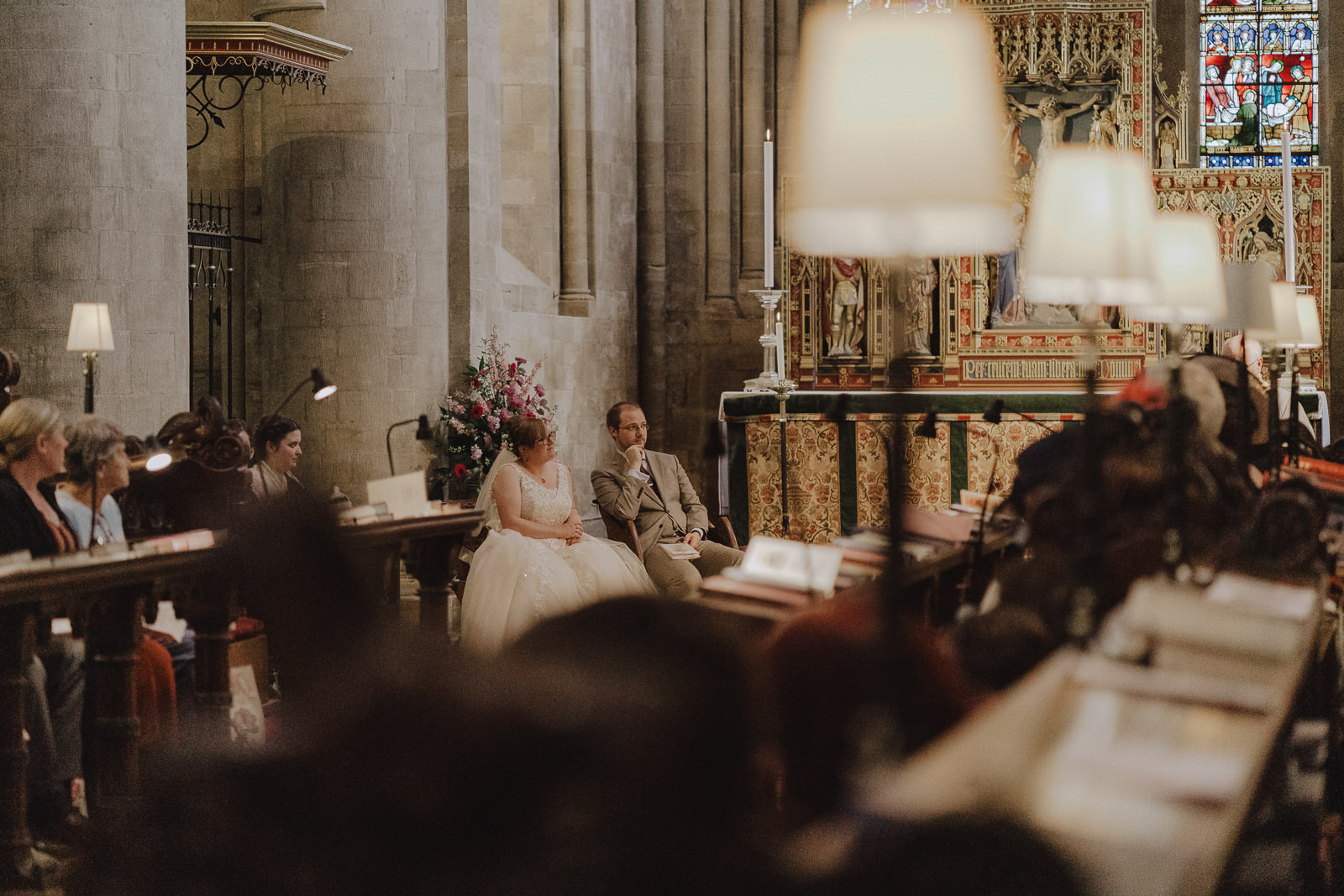 Carina Dominic Wedding Christ Church Cathedral