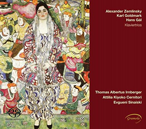 ZEMLINSKY | GOLDMARK | GAL Klaviertrios - Thomas Albertus Irnberger, violinAttilia Kiyoko Cernitori, celloEvgueni Sinaiski, piano
