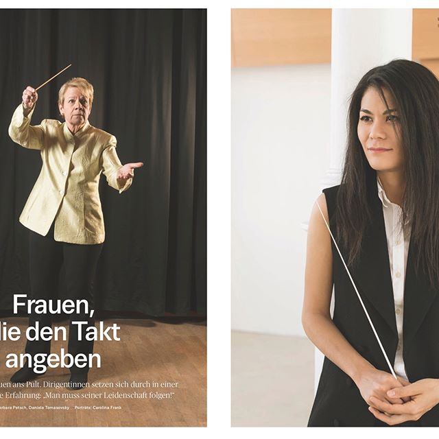 Follow your passion, always, no matter what!  I have been overwhelmed by joy when I saw my photo next to my idol @marinalsop.conductor , who inspired me to start the literally life changing journey of becoming a conductor!  I'm so grateful and honored to have my interview featured in the Kulturmagazin of Die Presse, the most important austrian newspaper. . . . #conductor #womanconductor #dirigentin #dirigent #marinalsop #musicianslife #conductorslife #passion #diepresse #kultur #classicalmusic #klassischemusik #happy