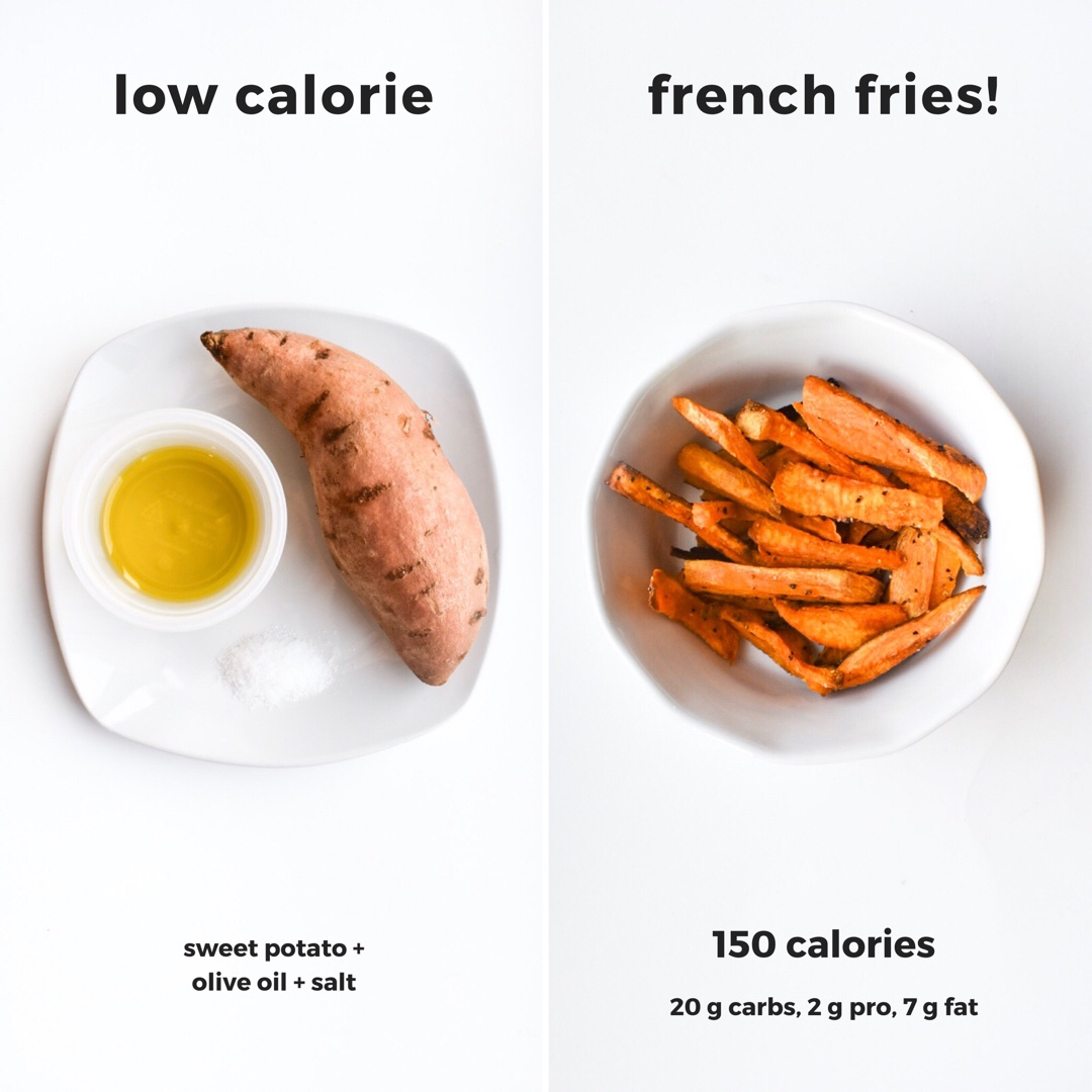 Low Calorie Sweet Potato French Fries