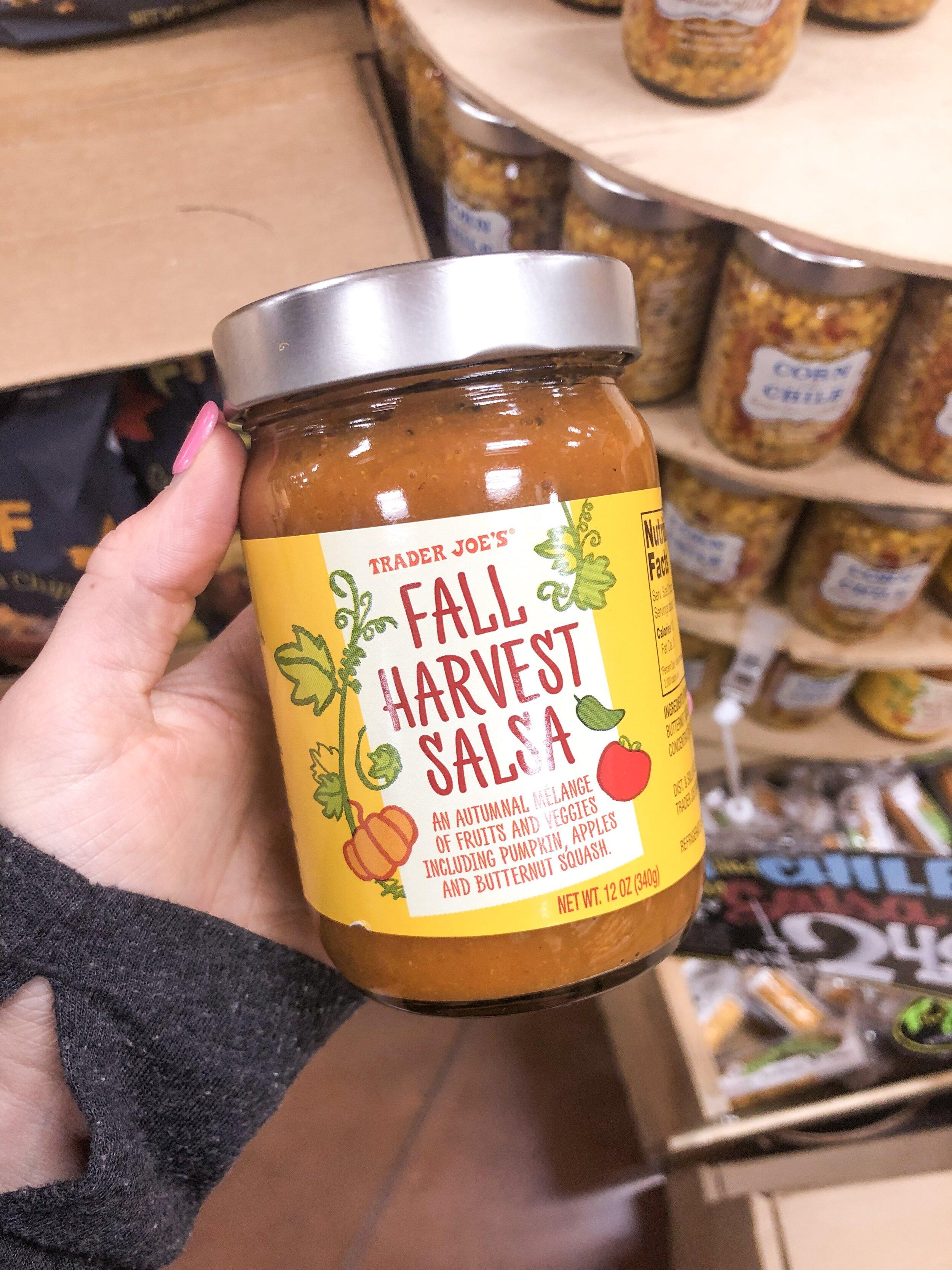 fall harvest salsa trader joe's