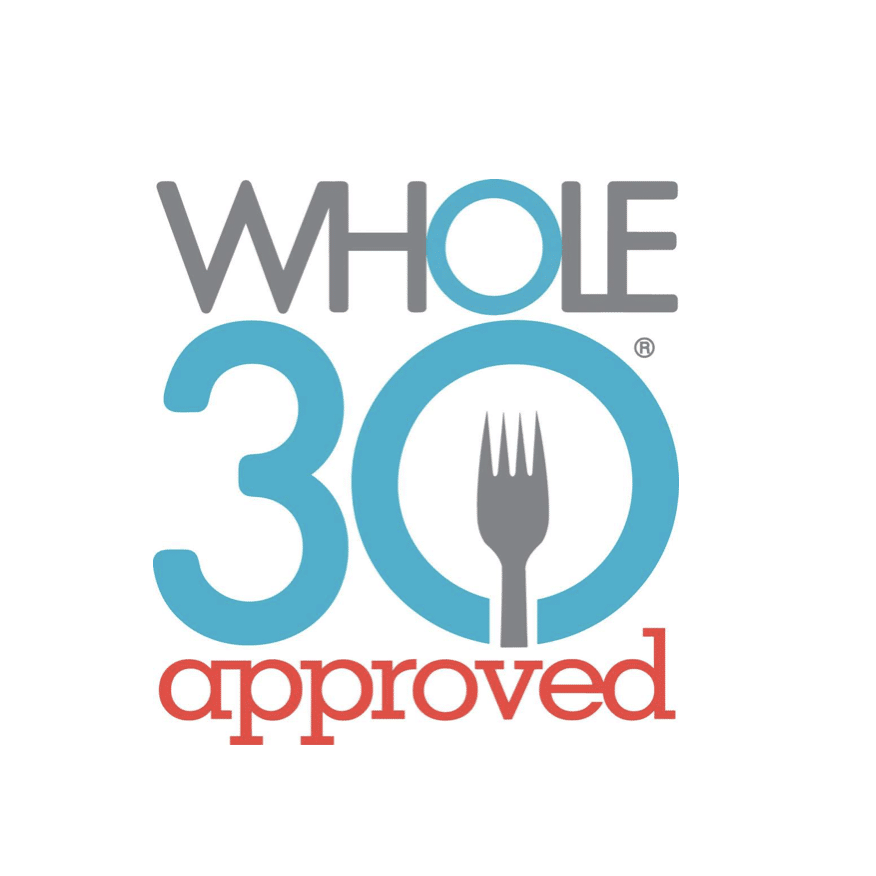 "Here are a few Whole30 approved products I love! - Chomps Grass-Fed Beef SticksKettle & Fire Bone Broth: Just click the link to save 10% on your first order!Medlie Organic Veggie Drinks: Use code ""Laura15"" to save 15% on your order!"